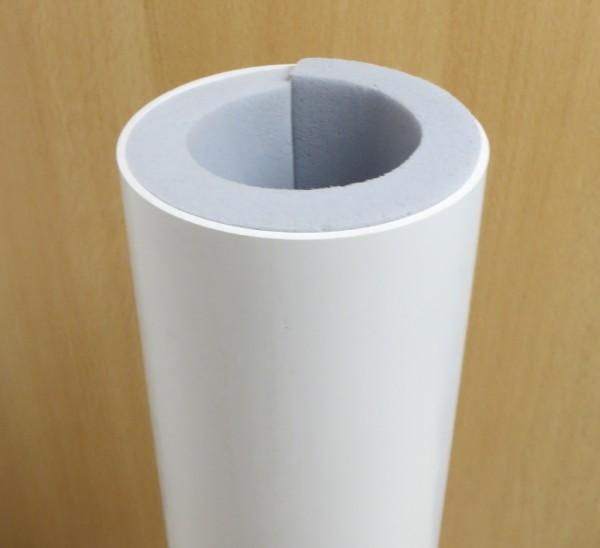 PVC ROHR NW 104 mit Innen-Dämmung L=500mm